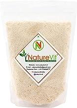 NatureVit Psyllium Husk, 400g [Sat Isabgol] [Fiber Supplement, Perfect for Keto Bread and Gluten Free Baking]