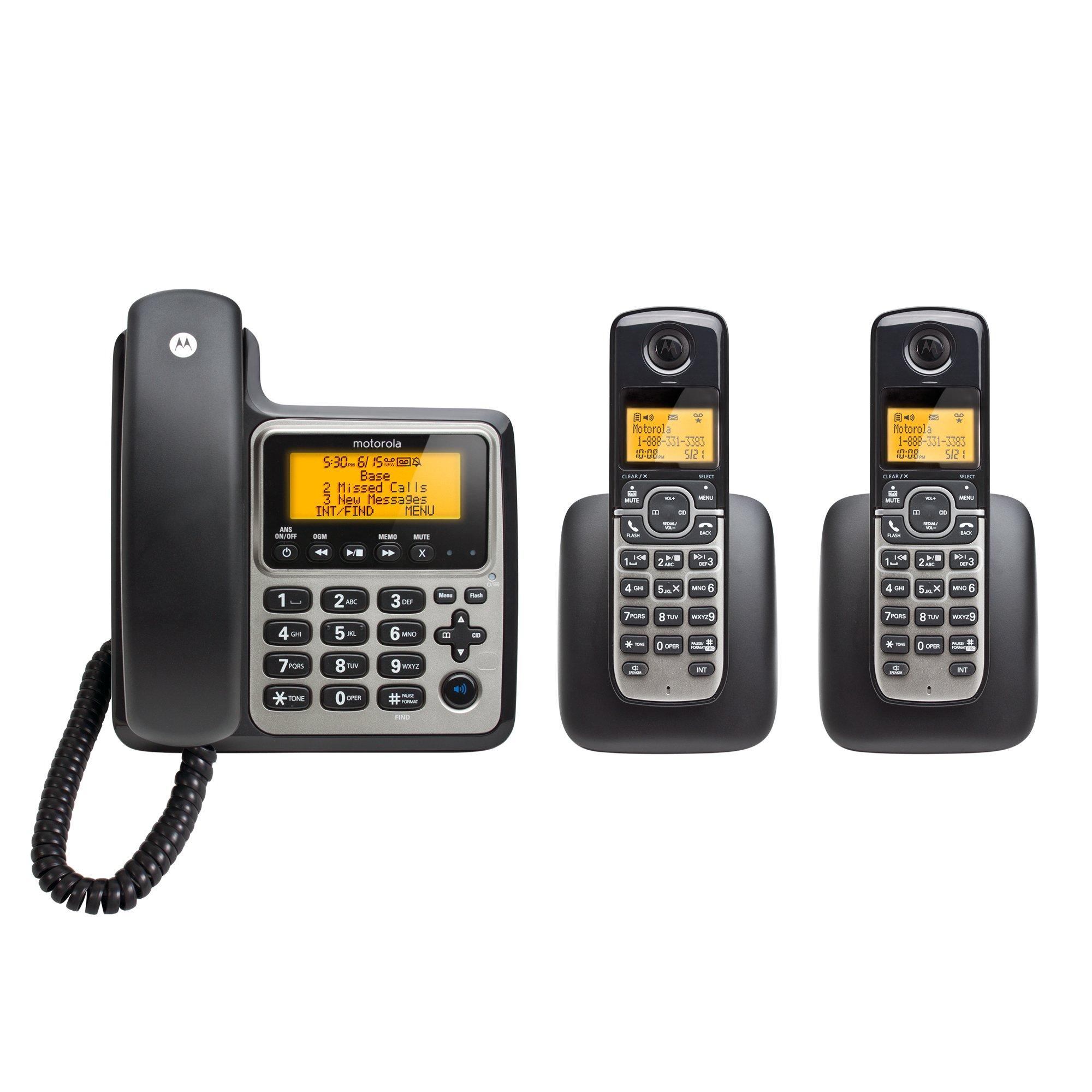Motorola Cordless Handsets Answering M803C