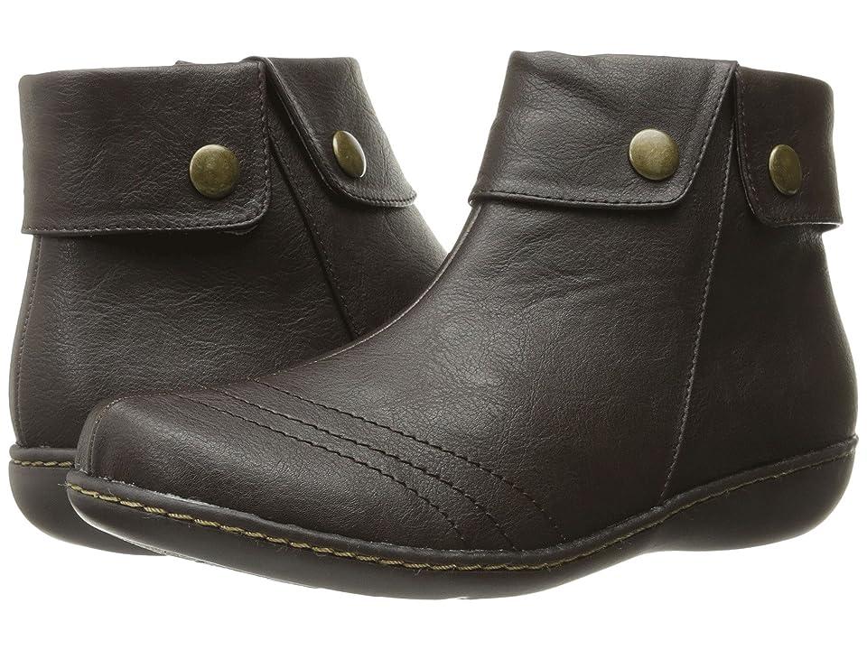 Soft Style Jerlynn (Dark Brown Leather) Women
