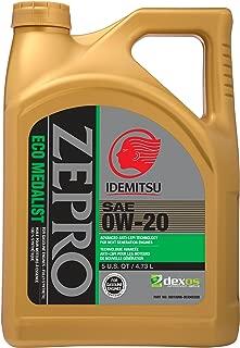 ZEPRO 30010096-95300C020 Eco Medalist 0W-20 Engine Oil (5 Quart), 160. Fluid_Ounces