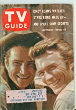 1961 TV Guide Feb 4 Clint Eastwood and Eric Fleming of Rawhide - Central California Edition Very Good (3 out of 10) Well Used by Mickeys Pubs