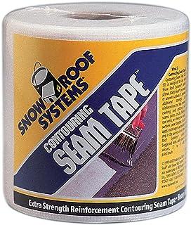 """KST Coatings KST00ST50-99 4"""" X 50` White Lightweight Polyester Seam Tape"""