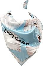 Love Bravery Lady Gaga Face Blue Bandana Scarf ONE SIZE