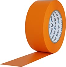 """ProTapes 840178006707 Artiest Flat back Printable Paper Board/Console Tape, 60 yd. Lengte x 1/2"""" Breedte, Oranje"""