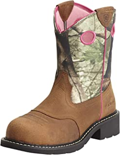 Women's Fatbaby Steel Toe Work Boot