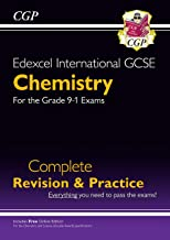 New Grade 9-1 Edexcel International GCSE Chemistry: Complete Revision & Practice with Online Edition (CGP IGCSE 9-1 Revision)