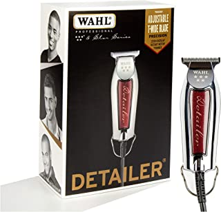 Wahl Professional 5-Star Detailer with Adjustable T Blade for Extremely Close Trimming..