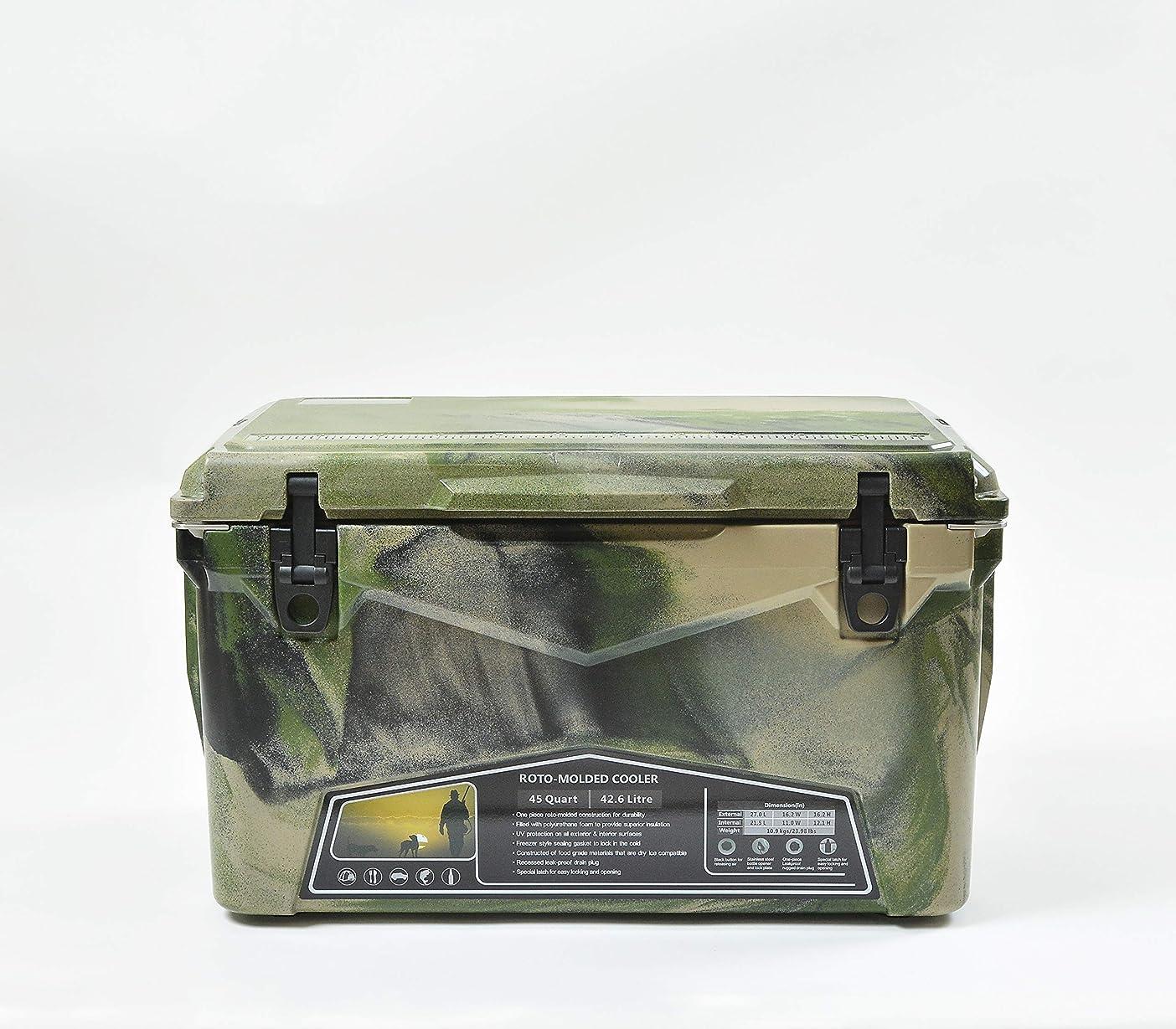 投資する楽な水没アイスランドクーラー クーラーボックス キュリアス別注アイスランドクーラー45 ILC045ACA Army Camo