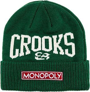 Crooks & Castles Womens X Monopoly Knit Beanie Hat