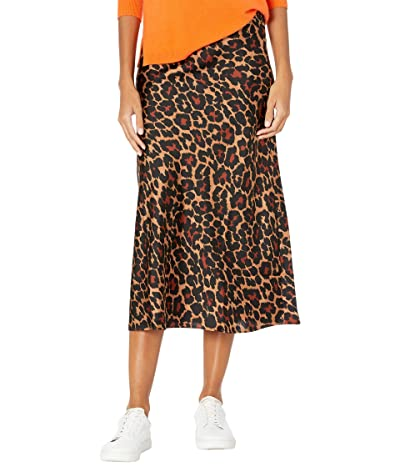 J.Crew Pull-On Slip Skirt in Leopard (Brown/Black) Women