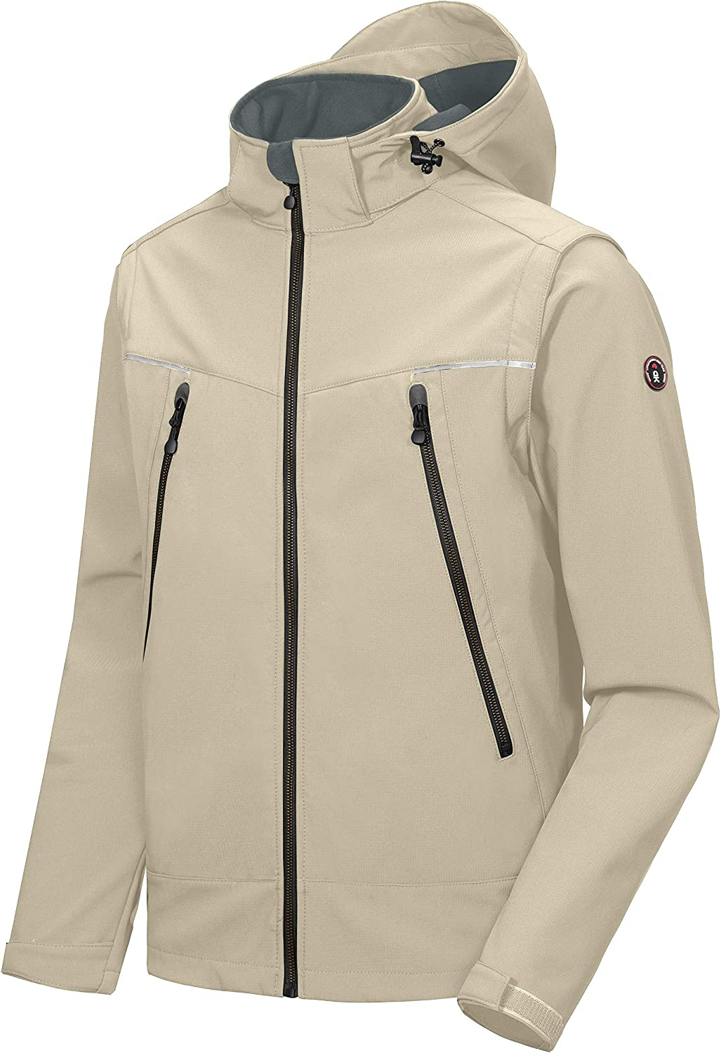 Little Donkey Andy Courier shipping free Men's Waterproof Sale SALE% OFF Jacket with Detach Softshell