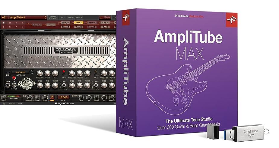 縮約占める準備IK Multimedia AmpliTube MAX ギターサウンド?コレクション【国内正規品】
