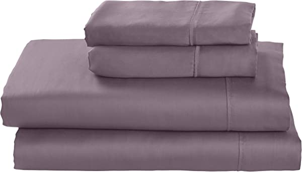 Stone Beam Wrinkle Resitant 100 Tencel Bed Sheet Set Queen Mulberry