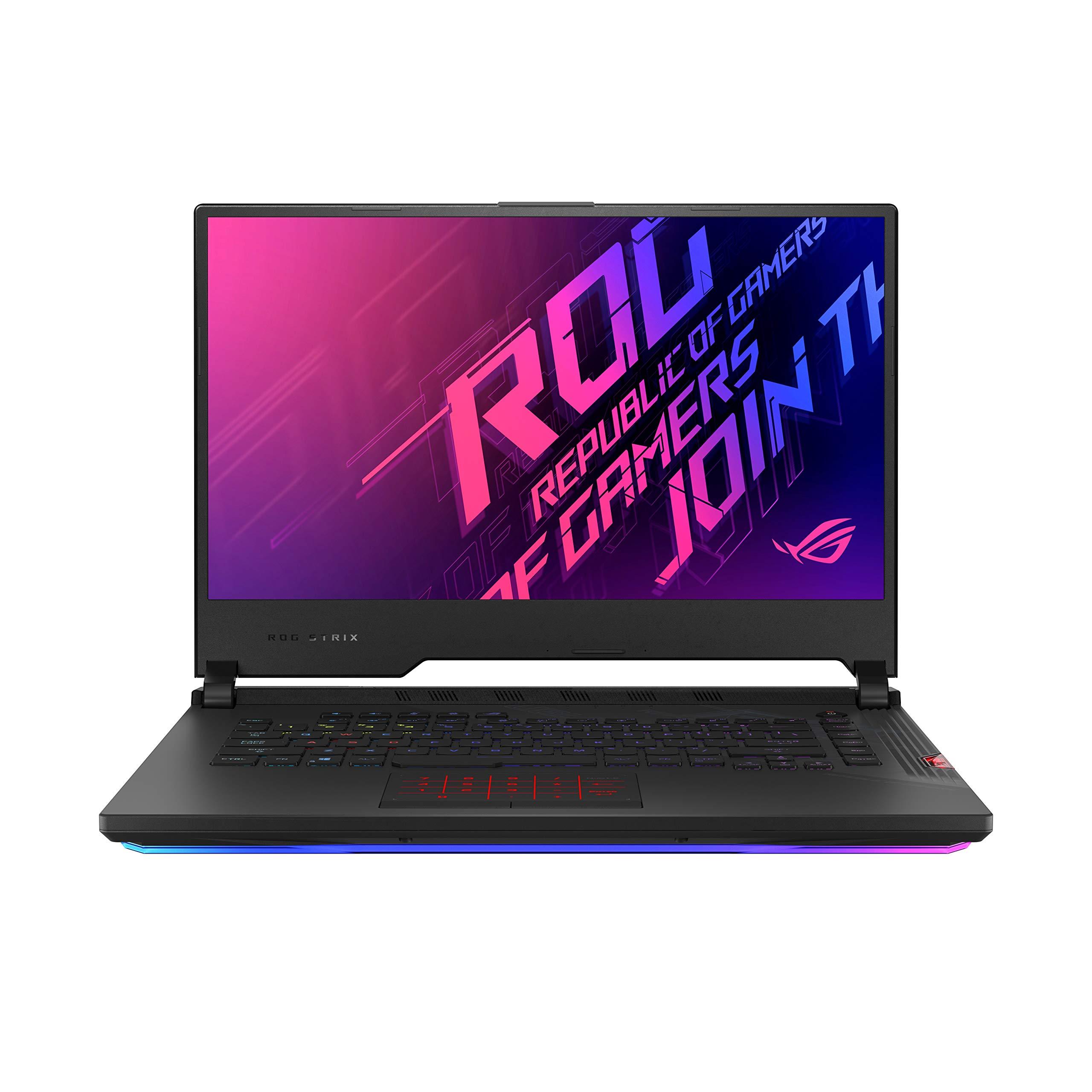 "ASUS ROG StrixScar 15 (2020), 15.6"" FHD 240Hz/3ms, Intel Core i7-10875H 10th Gen, RTX2060 GDDR6 6GB Graphics, Gaming Laptop (16GB/1TB SSD/Windows 10/Per-Key RGB/Black/2.35 Kg), G532LV-AZ046T"