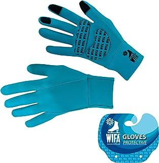 WIFA Fallschutz Handschuhe mit Gelpolsterung für Eislaufen Fahrrad Fahren Laufen Wandern Touchscreen – Eislaufhandschuhe H...