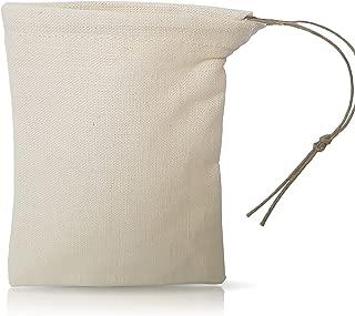Organic Cloth Tea Bag - Bulk Spice Bag - by Pinyon Products - Reusable, Natural, Unbleached, Environmentally Friendly - Hemp & Organic Cotton Blend - Loose Leaf Tea Infuser