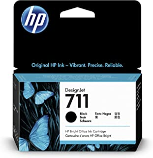 HP (Hewlett Packard) Original CZ129A HP 711 38-ml DesignJet Ink Cartridge, Black