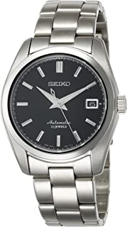 Seiko Men's Japanese-Automatic Watch with Stainless-Steel Strap, Silver, 20 (Model: SARB033