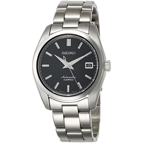 af423c10b Seiko Men's Japanese-Automatic Watch with Stainless-Steel Strap, Silver, 20  (