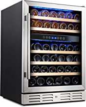 marvel dual zone wine cooler