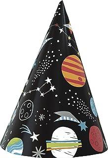 Unique Outer Space Party Hat 8-Pieces