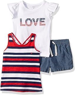 Carter's Baby Girls' Toddler 3-piece Playwear Set