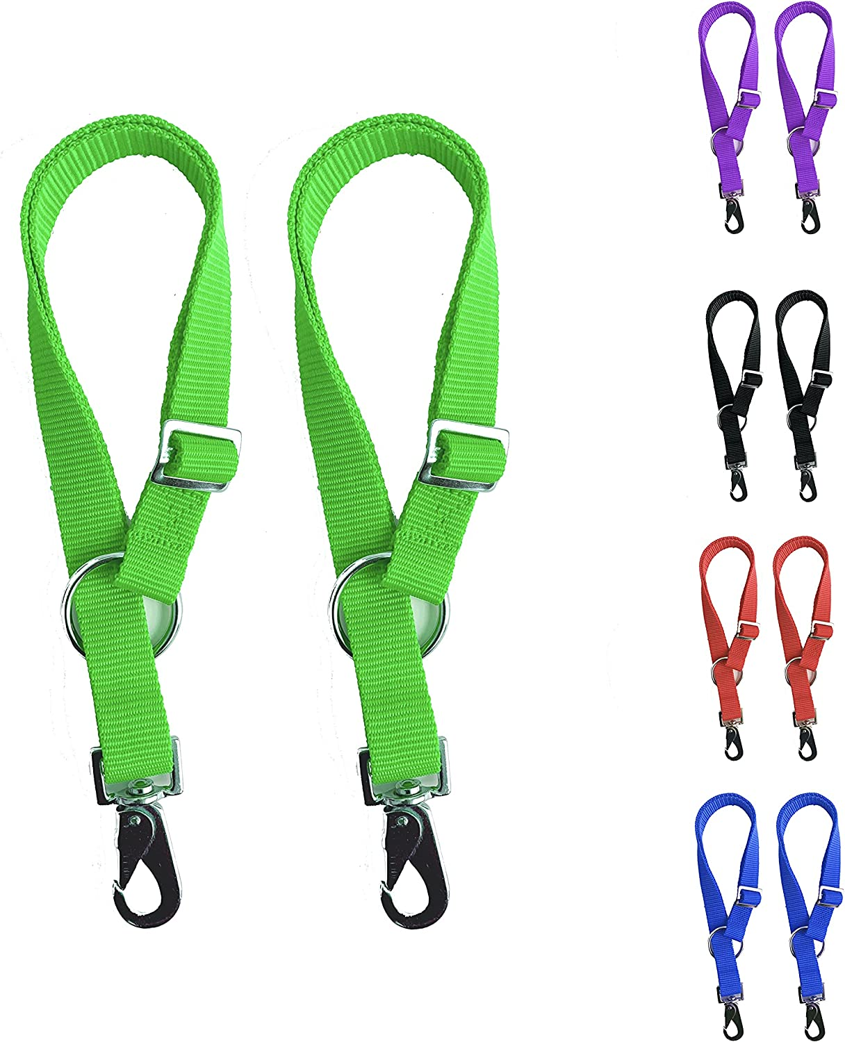 Majestic Ally Pack of Our shop OFFers the best service 2 Horse - Water Bucket Strap Adjus Hangers Max 53% OFF