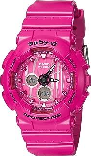 Casio Women's Baby G BA120SP-4A Pink Rubber Quartz Sport Watch