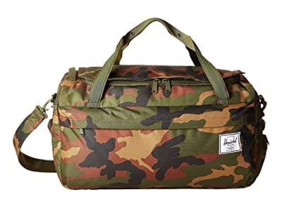 Herschel Supply Co. Outfitter Luggage 50 L (Woodland Camo) Duffel Bags
