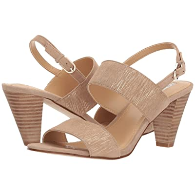 Tahari Easy (Driftwood Striped Suede) High Heels