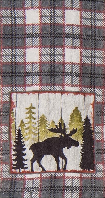Kay Dee Designs Simple Living Moose Terry Towel