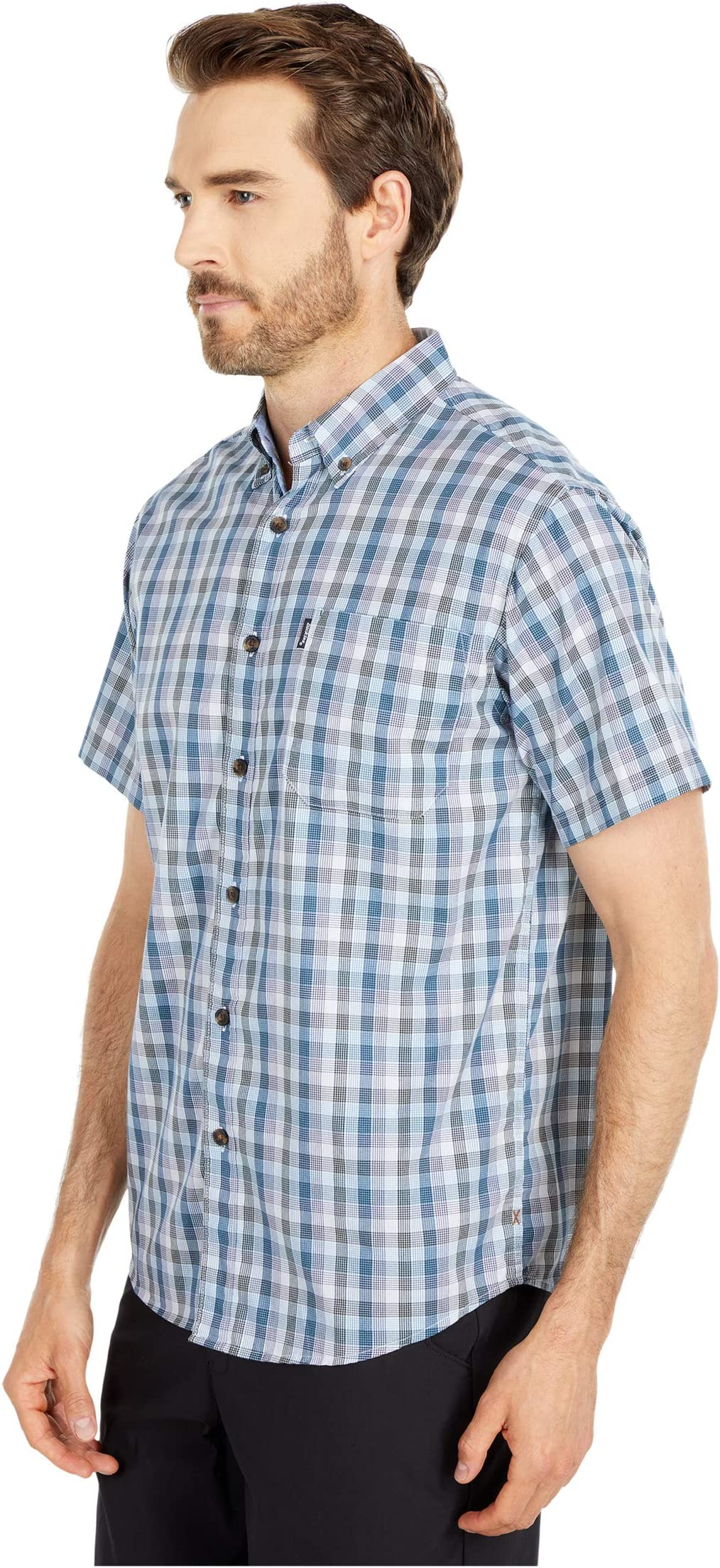 Dickies X-Series Modern Fit Flex Plaid Shirt jh9tx