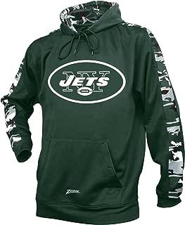 Zubaz Adult Men New York Jets, Camo Print, XX-Large