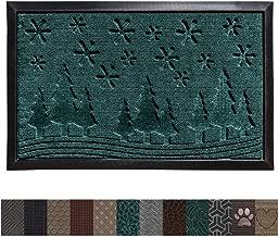 winter outdoor doormat