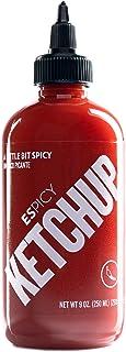 ESPICY Ketchup 250ML - 280 GR | Ketchup con un toque picante | Combinada con ESPICY | Gluten free | Apta para veganos