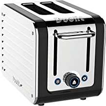 Dualit 26555 Toaster, 11.5 x 6.7 x 8.1 inches, Black and Steel