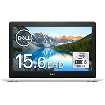Dell ノートパソコン Inspiron 15 3593 ホワイト 21Q12W/Win10/15.6FHD/Core i5-1035G1/8GB/512GB SSD