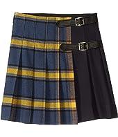 Oscar de la Renta Childrenswear - Plaid Pleated Skirt (Toddler/Little Kids/Big Kids)