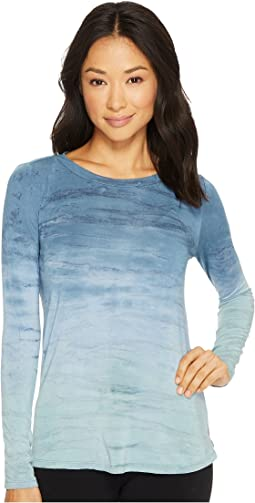 Hard Tail - Long Sleeve Drape Back Top