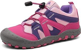Mishansha Chaussures de Randonnée Enfant Chaussures de Sport Garcon Running Chaussures de Plein Respirantes
