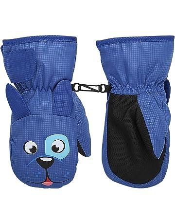 scaldamani termici Guanti invernali per bambini regali di Natale o di compleanno per bambini da 3 a 9 anni morbidi in peluche spessi caldi guanti da polso per attivit/à allaperto morbidi