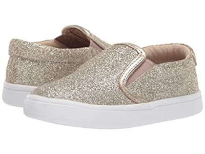 Old Soles Dressy Hoff (Toddler/Little Kid) (Glam Gold) Girl