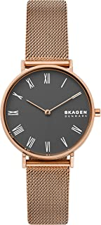Skagen Women's Hald Quartz Stainless Steel Classic Dress Watch