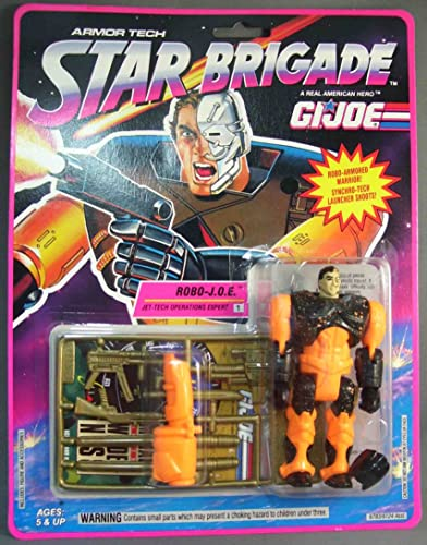 GI Joe Star Brigade Robo - J.O.E. - Jet Tech Operations Expert Action Figure