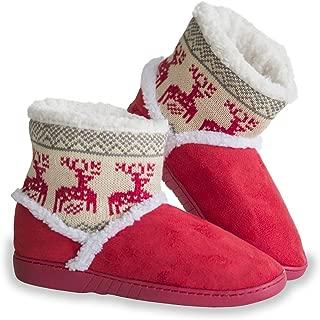 Pantuflas Invierno, Zapatillas Casa Suave para Familia Hombre/Mujer/niñas Peluche Cálido Unisex antiderrapantes
