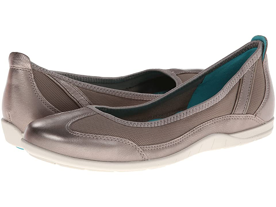 ECCO Bluma Summer Ballerina (Moon Rock) Women