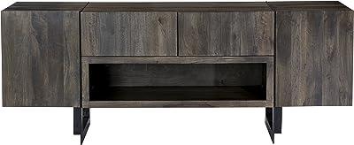 World Modern Design SR-1022-24 Tiburon Media Cabinet, Natural