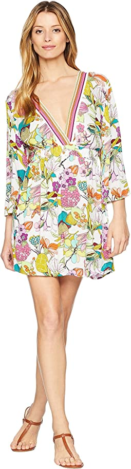 Key West Botanical Tunic Cover-Up