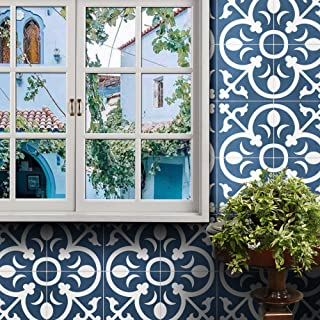 Moroccan Mosaic & Tile House CTP31-07 Nador Handmade Cement Tile 8x8