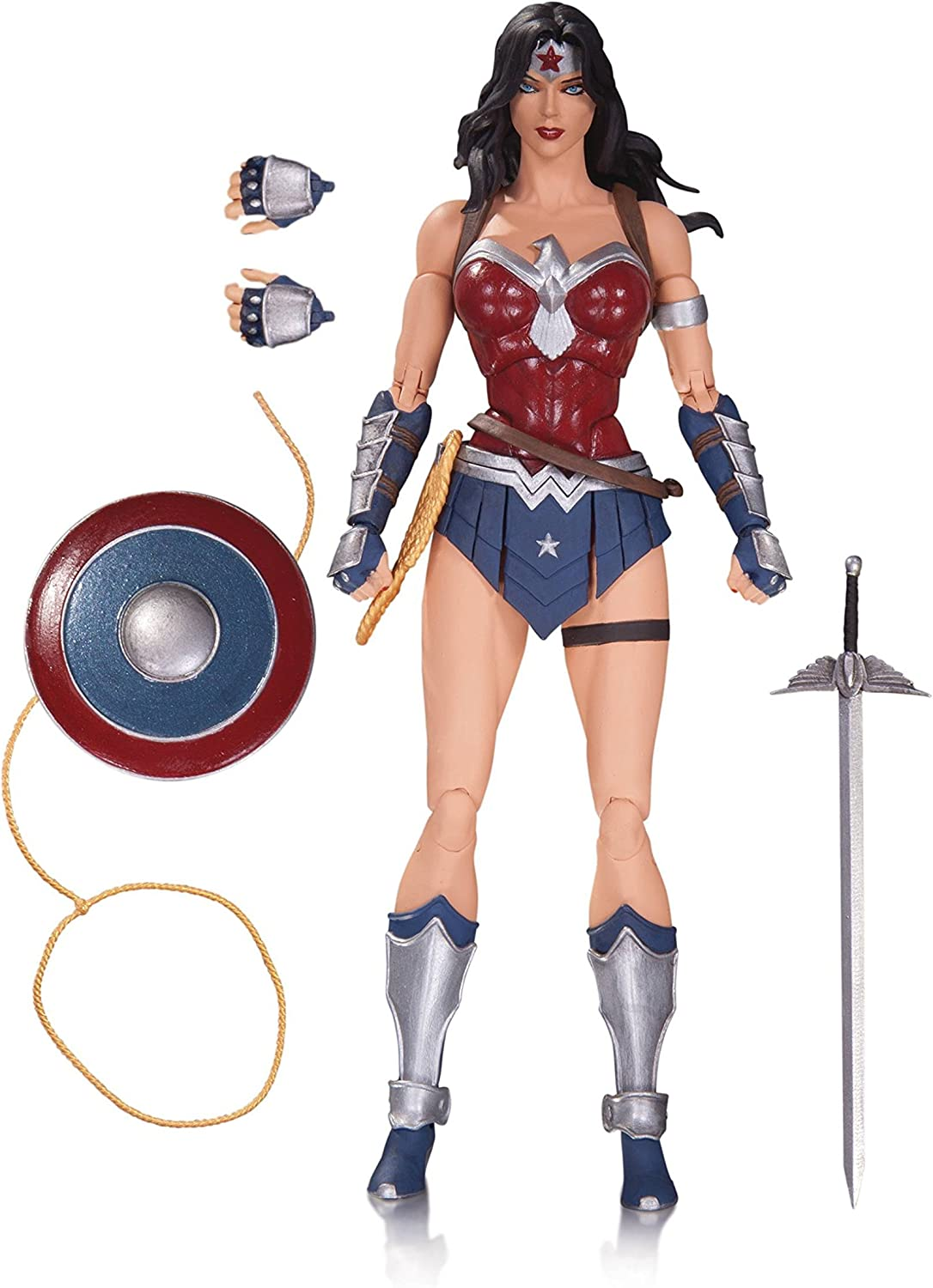 DC Collectibles OCT160343 DC Comics Icons Wonder Woman from Justice League The Amazo Virus Action Figure